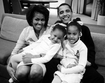 The Barack Obama Family!